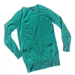 J crew Merino wool button up cardigan sweater
